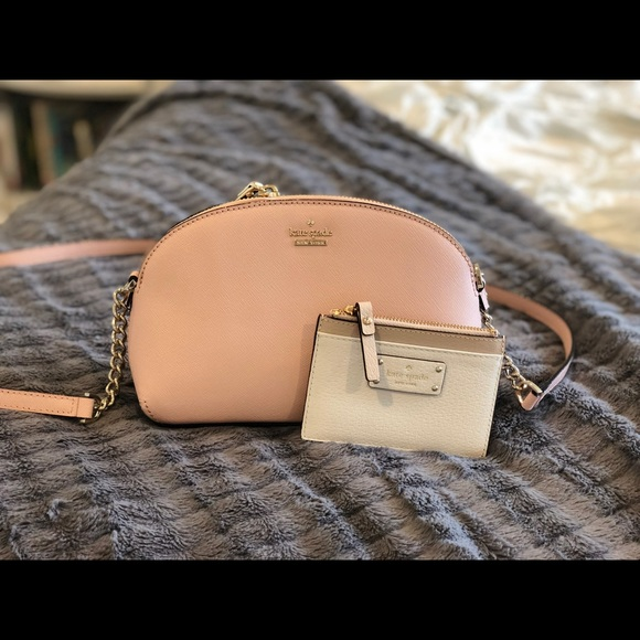 0f0aad99982 Kate Spade sylvia small dome crossbody w/ wallet